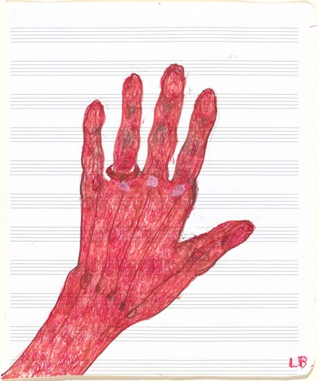 Louise Bourgeois My hand